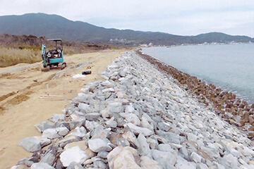 護岸・養浜工事
